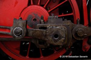 Triebwerk einer Dampflokomotive