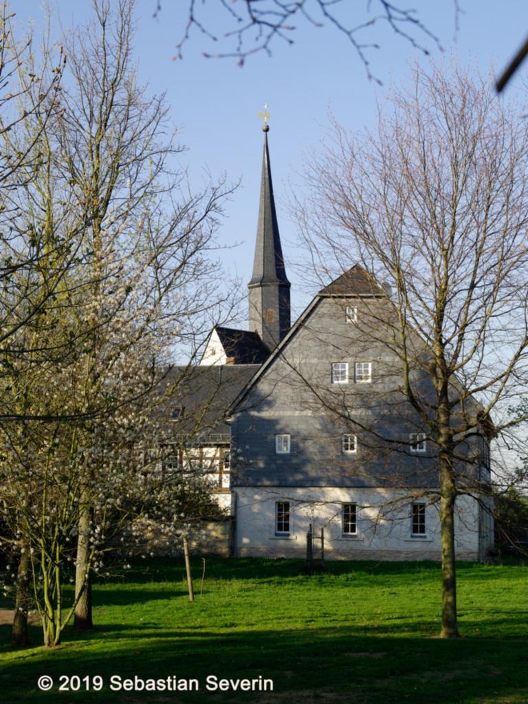 Ortsteil Jerisau, Blick Richtung Kirche