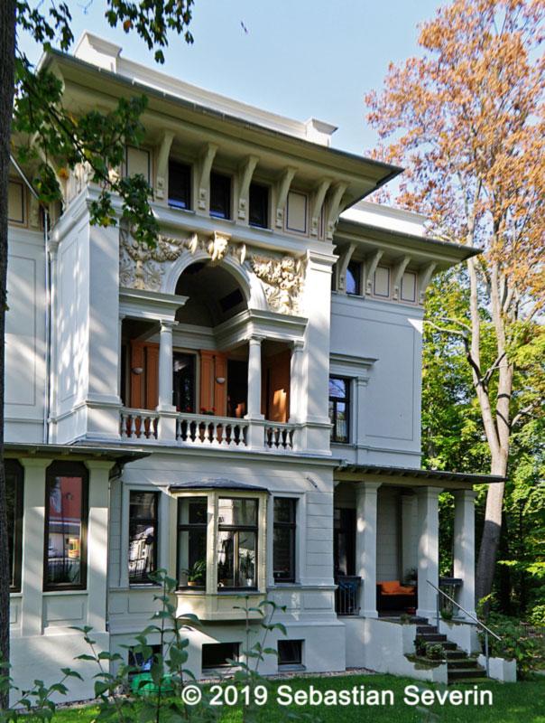 Villa im Stadtzentrum von Glauchau.